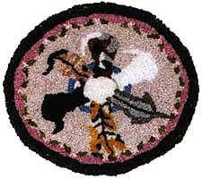 Anna G Brazilian Embroidery 1 Quot Scale Miniature Rugs And