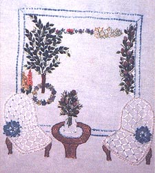 Embroidery Stitches found in Period